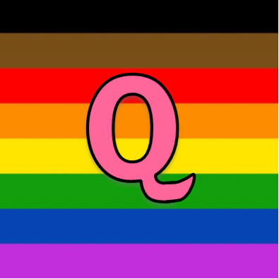 This image has an empty alt attribute; its file name is Queerousal-logo.png